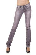 RICHMOND New Woman Gray Denim ROCKER Stonewashed Jeans Pants Trousers Size 29