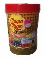 CHUPA CHUPS 100 Best Lollipops Assorted Flavour Bulk Lollies Jar 3 New Flavours