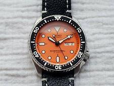 Seiko SKX011J Automatic Watch Japan Made 7S26-0020 Orange 200m Diver