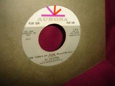 Al Kooper My Voice My Piano and My Feet / New York's My Home 45 RPM Vinyl