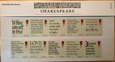 2016 Shakespeare presentation pack No. 524 Face Value £7.00