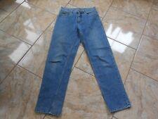 H4785 Wrangler Maverick Jeans W32 L34 Mittelblau  Gut