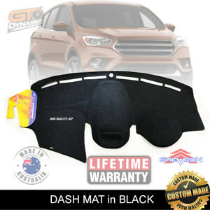 DASH MAT for Ford Kuga / ESCAPE Suits all Models in Black Jan/2016-2019 DM1435
