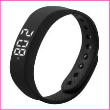 Fitness Bracelet Smart Step Tracker Pedometer 3D T5 LED Display Sports Gauge