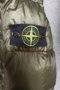 Stone Island Daunen Steppjacke Jacke Grün Größe XXL / 2XL Herren Down Jacket