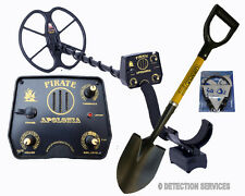"Pirate Treasure Hunter Metal detector 14kHz coil 11"" DD extreme deep and sens"