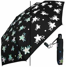 "44"" Color-Changing Star-Flower Auto-Auto Mini Umbrella-RainStoppers Rain/Sun UV"
