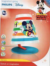 Philips Disney Mickey Mouse Kinder Lampe LED Tischleuchte Micky Maus Nachtlicht