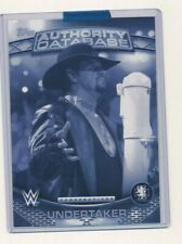 2016 WWE Topps Authority Perspectives 5x7 1/1 Exclusive The Undertaker