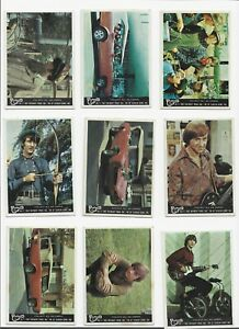 Monkees Colour set of 44 cards 1967 Scanlens/Donruss very good to near mint