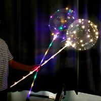 20'' Light Up Balloons Luminous Glow In The Dark Wedding Birthday Party Decor