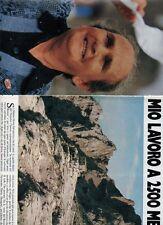 SP48 Clipping-Ritaglio 1982 Maria Salvaterra Il mio lavoro a 2500 metri
