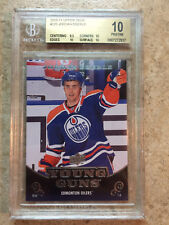 10-11 UD Serie 1 RC Rookie YG Young Guns #220 JORDAN EBERLE Graded BGS 10