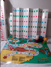 1988 Li'l Tuppers Travels Tupperware Toy 21 X 17 Game Sheet 3 Men 100 Cards NOS