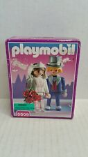 Rare Vintage Playmobil Victorian Wedding Bride & Groom 5509 NIP 1995