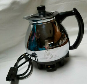 Vintage 1944 SunBeam Coffeemaster C30B WORKS Great Sunbeam Plug in Teakettle
