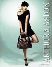 Publicité Advertising 107  2009   Arthur & Aston sac & chaussures