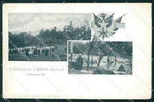 Varese Brenta Cittiglio 77º Reggimento Fanteria Militari cartolina QT7685