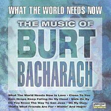 Various Artists : Music of Burt Bacharach CD (1998)