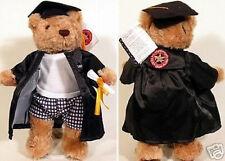 Herrington Teddy Bear Club 2003 Class GRADUATION Plush CAP & GOWN New+Tags GRAD
