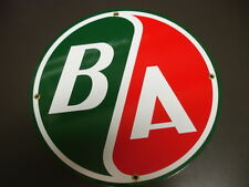 B/A Oil Gas Porcelain Advertising sign (other)