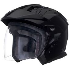 Bell Mag-9 Sena Solid Black Helmet Medium NEW