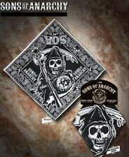 SONS OF ANARCHY FEAR THE REAPER PAISLEY BANDANA