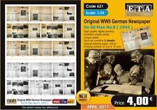 Original World War II German Newspaper De SS Man No.8 - 1944