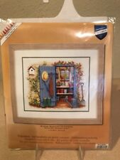 New in Package VERVACO Counted Cross Stitch Kit-MY GARDEN SHED