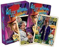Willy Wonka (Gene Wilder) Set mit 52 Spielkarten Jokers) (NM 52477)