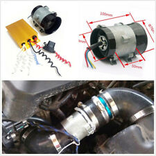 12V 300W Car Electric Turbine Power Turbo Charger &Automatic Controller 35000rpm