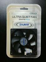 NEW ZALMAN ZM-F2 PLUS ULTRA QUIET ANTI-VIBRATION 92mm COMPUTER CASE FAN