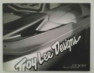 Vintage Troy Lee Designs Catalog 2008 Motocross Supercross Hayden Russell