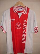 CAMISETA FOOTBALL SHIRT MAGLIA AJAX UMBRO PATCH CHAMPIONS LEAGUE 1996-1997