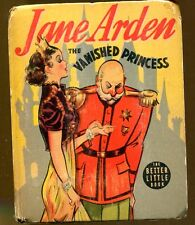 Jane Arden and the Vanished Princess-Vintage Better Little Book-1938