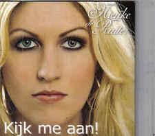 Nienke De Ruiter-Kijk Me Aan cd single