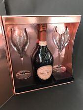 Laurent Perrier Champagner Rose 0,75l 12% Vol Geschenkset + 2 Gläser