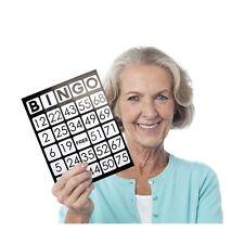 "Royal Bingo Supplies EZ Readers Large-Format 8.5"" x 11"" Bingo Cards with Jumbo"