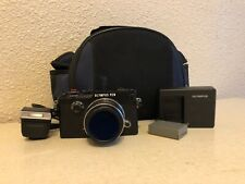 Olympus Pen-F 20.3Mp Digital Camera - Black w/ 17mm 1.8 lens + accessories