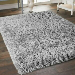 Living Room Rugs Modern Grey Silver Large Soft Cheap Sale Quality Carpet Rug
