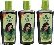 3 x 200ml Three Bajaj Brahmi Amla Hair Oil For HAir Loss Hair Fall Conditioning