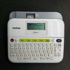 Brother P Touch Pt D400 Label Maker No Power Cable No Tape No Batteriesas Is
