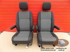 Seats seat set VW T6 T5 double front AUSTIN armrests comfort heated