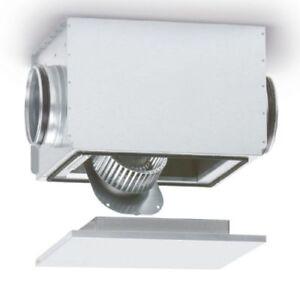 Helios Silentbox 9506 Ventilateur Centrifuge Conduit Sb 125 A Isolation Phonique