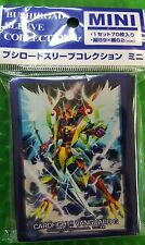 Vanguard G Sleeve Mini Vol.258 Dragonic Kaiser Vermillion