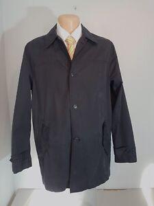BURLINGTON  Herren  Mantel  Jacke  Gr. 50 dunkelblau kurzer Übergangsmantel