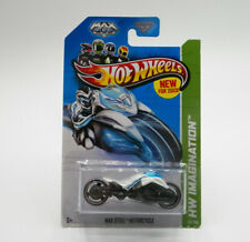 Hot Wheels HW Imagination Max Steel Motorcycle 2013 New Free Shipping