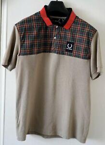 Raf Simons x Fred Perry Logo Polo Shirt Embroidered 40 Rare