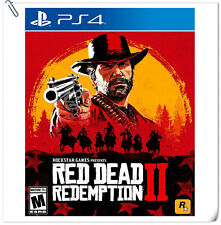 PS4 Red Dead Redemption 2 SONY PLAYSTATION Rockstar Action Games