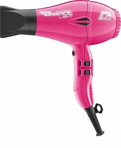 Parlux Advance Light Ionic Ceramic Hair Dryer Fucshia Pink + Free Brush